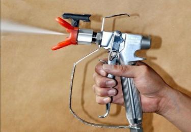 Ứng dụng dầu UV dùng cho súng phun