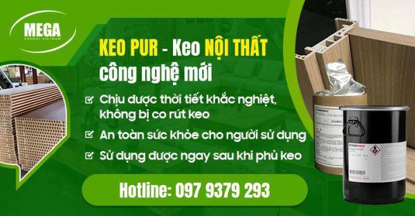 Địa chỉ cung cấp keo Pur chịu nước hàng đầu Việt Nam